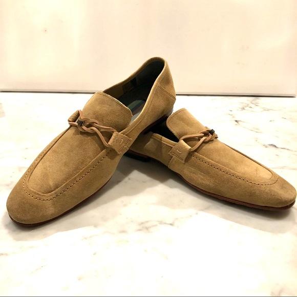 Hoppken Tan Suede Loafer Shoe | Poshmark